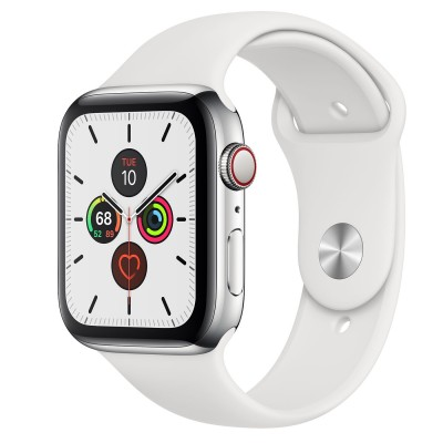 Smart hodinky APPLE WATCH 5 Silver