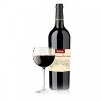 Fľaša červeného vína